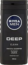 "Düfte, Parfümerie und Kosmetik Duschgel ""Deep"" - Nivea Deep Clean Gel"