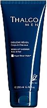 Düfte, Parfümerie und Kosmetik 2in1 Shampoo und Duschgel für Männer - Thalgo Men Wake-Up Shower Gel