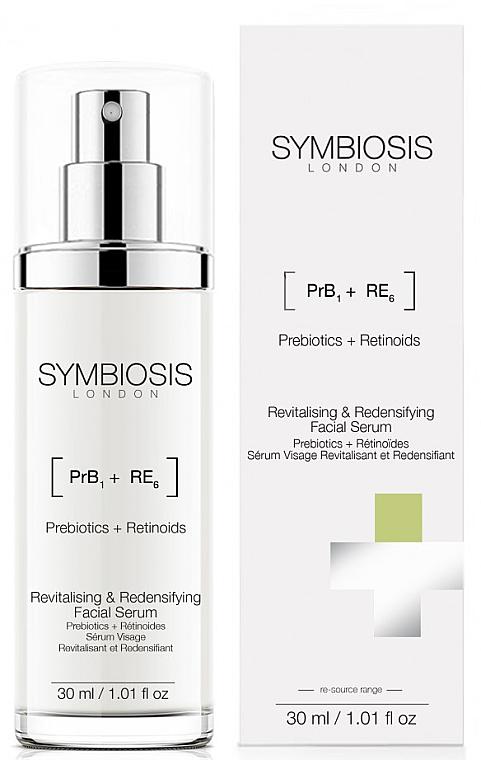Revitalisierendes Gesichtsserum mit Präbiotika und Retinoiden - Symbiosis London Revitalising & Redensifying Facial Serum — Bild N1