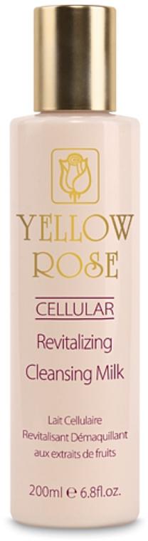 Feuchtigkeitsspendende und beruhigende Gesichtseinigungsmilch für alle Hauttypen - Yellow Rose Cellular Revitalizing Cleansing Milk — Bild N1