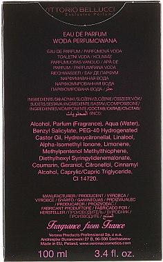 Vittorio Bellucci Le Noir St. Tropez - Eau de Parfum — Bild N3