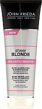 Düfte, Parfümerie und Kosmetik Haarspülung zum Beleben von blonder Haarfarbe mit perlmutternem Glanz - John Frieda Sheer Blonde Brilliantly Brighter Conditioner