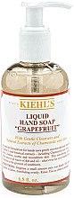 """Düfte, Parfümerie und Kosmetik Flüßige Seife """"Grapefruit"""" - Kiehl's Liquid Hand Soap Grapefruit"""