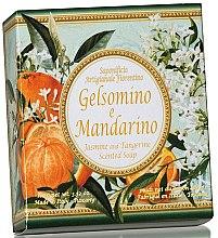 Düfte, Parfümerie und Kosmetik Naturseife Jasmin & Tangerine - Saponificio Artigianale Fiorentino Jasmine & Tangerine Soap Amalfi Collection