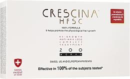 Düfte, Parfümerie und Kosmetik Ampullen gegen Haarausfall für Frauen 200 - Crescina Re-Growth HFSC Formula 100%
