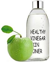 Düfte, Parfümerie und Kosmetik Erfrischendes feuchtigkeitsspendendes und tonisierendes Gesichtstonikum mit Apfelextrakt für mehr Hautelastizität - Real Skin Healthy Vinegar Skin Toner Apple