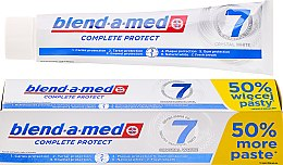 Zahnpasta Complete Protect 7 Crystal White - Blend-a-Med Complete Protect 7 Crystal White Toothpaste — Bild N2