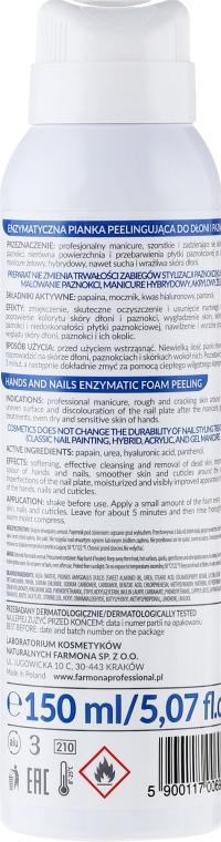 Enzymatisches Hand- und Nagelschaum - Farmona Professional Hands and Nails Artist Enzymatic Foam Peeling — Bild N2