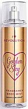 Düfte, Parfümerie und Kosmetik Parfümiertes Körperspray Golden Sky - I Heart Revolution Body Mist Golden Sky