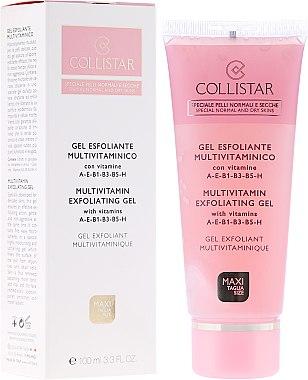 Gesichtspeeling-Gel mit Vitaminen für trockene und Mischhaut - Collistar Multivitamin Exfoliating Gel — Bild N1