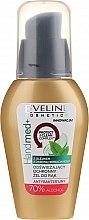 Antibakterielles Handgel mit Teebaumöl und 70% Alkohol - Eveline Cosmetics Handmed+, 70% Alcohol — Bild N1
