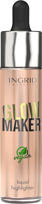 Flüssiger Highlighter - Ingrid Cosmetics Glow Maker Bali Vegan Highlighter — Bild N1