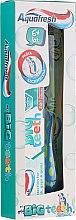 Düfte, Parfümerie und Kosmetik Mundpflegeset für Kinder - Aquafresh My Big Teeth (Zahnpasta 50ml + Blaue Zahnbürste 6+ Jahre 1St.)