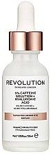 Düfte, Parfümerie und Kosmetik Straffendes Pflegeserum für die Augenpartie mit Koffein & Hyaluronsäure - Revolution Skincare 5% Caffeine Solution + Hyaluronic Acid