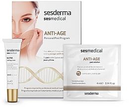 Düfte, Parfümerie und Kosmetik Anti-Aging Gesichtspflege - Sesderma Sesmedical Anti-Age Personal Peel Program (Gesichtscreme 15ml + Peeling-Tücher 4x4ml)