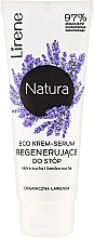 Creme-Serum für trockene Fusshaut mit Lavendel - Lirene Natura Eco Organic Lavender — Bild N1