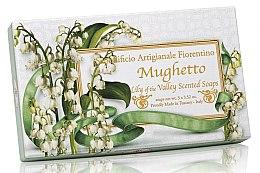 Düfte, Parfümerie und Kosmetik Naturseifenset Maiglöckchen - Saponificio Artigianale Fiorentino Lily Of The Valley Scented Soap (Seife 3St. x100g)