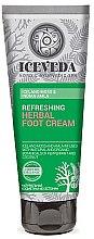 Düfte, Parfümerie und Kosmetik Fußcreme - Natura Siberica Iceveda Iceland Moss&Indian Amla Reftrsh Herbal Foot Cream