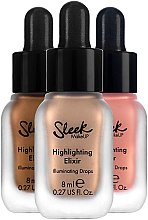 Flüssiger Highlighter - Sleek MakeUP Highlighting Elixir Illuminating Drop — Bild N3