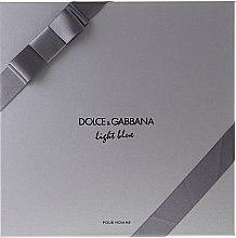 Dolce & Gabbana Light Blue Pour Homme - Duftset (Eau de Toilette 125ml + Duschgel 50ml +After Shave Balsam 75ml) — Bild N2