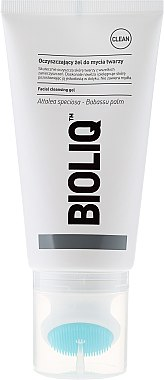 Feuchtigkeitsspendendes Gesichtsreinigungsgel mit Silikonbürste - Bioliq Clean Cleansing Gel — Bild N2