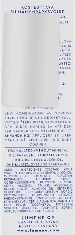 Feuchtigkeitsspendende Augencreme - Lumene Klassikko Moisturizing Eye Cream — Bild N3