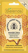 Düfte, Parfümerie und Kosmetik Pflegende Gesichtsmaske - Bielenda Manuka Honey Nutri Elixir Mask