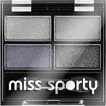 Düfte, Parfümerie und Kosmetik Lidschatten-Quartett - Miss Sporty Studio Colour Quattro Eye Shadow