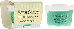 Düfte, Parfümerie und Kosmetik Feuchtigkeitsspendendes Gesichts- und Lippenpeeling - Nacomi Moisturizing Face&Lip Scrub Pinacolada
