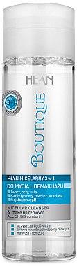 3in1 Mizellenwasser zum Abschminken - Hean Boutique Micellar Cleanser — Bild N1