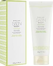 Düfte, Parfümerie und Kosmetik Revitalisierendes Körperpeeling mit Sheabutter, weißem Tee und Zitrusfrüchte - Mary Kay Satin Body