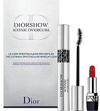 Düfte, Parfümerie und Kosmetik Make-up Set - Dior Diorshow Iconic Overcurl Gift Set (Mascara 10ml + Lippenstift 1,5g)