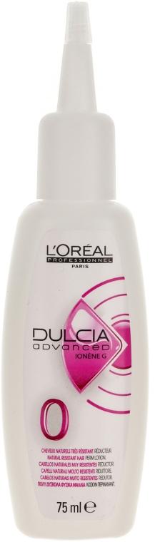 Dauerwell-Lotion für widerspenstiges Haar - L'Oreal Professionnel Dulcia Advanced Perm Lotion 0 — Bild N1