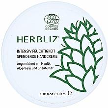 Düfte, Parfümerie und Kosmetik Intensiv feuchtigkeitsspendende Handcreme mit Aloe Vera - Herbliz