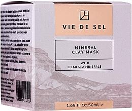 Düfte, Parfümerie und Kosmetik Mineralische Gesichtsmaske mit Mineralien aus dem Toten Meer - Vie De Sel Mineral Clay Mask With Dead Sea Minerals
