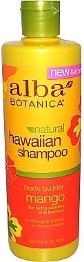 Haarshampoo mit tropischen Extrakten für mehr Volumen - Alba Botanica Natural Hawaiian Shampoo Body Builder Mango — Bild N1