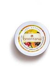 Düfte, Parfümerie und Kosmetik Creme-Peeling für das Gesicht mit Papaya und indischer Ginseng - Orientana Natural Cream Face Scrub Papaya