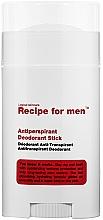 Düfte, Parfümerie und Kosmetik Deostick Antitranspirant - Recipe For Men Antiperspirant Deodorant Stick