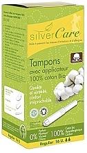 Düfte, Parfümerie und Kosmetik Tampons aus Bio-Baumwolle Light 16 St. - Masmi Silver Care
