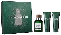 Düfte, Parfümerie und Kosmetik Adolfo Dominguez Agua Fresca Vetiver - Duschgel (Eau de Toilette 120ml + After Shave Balsam 75ml + Duschgel 75ml)