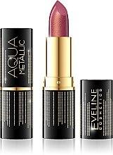Düfte, Parfümerie und Kosmetik Lippenstift - Eveline Cosmetics Aqua Metallic Lipstick
