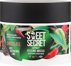 Pflegende Körperpeeling-Maske mit Chili, Himbeere, Limette und Kakaobohnenextrakt - Farmona Sweet Secret Chocolate Peeling-mask — Bild N2