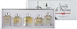 Düfte, Parfümerie und Kosmetik Charrier Parfums Secrets De Parfums - Duftset (Eau de Parfum 9.9ml + Eau de Parfum 10.5ml + Eau de Parfum 9.9ml + Eau de Parfum 9.9ml + Eau de Parfum 9.8ml)