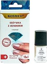 Düfte, Parfümerie und Kosmetik 10in1 Seidenconditioner für die Nägel - Kosmed Silk Nail Conditioner