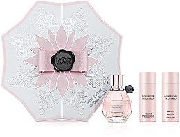 Düfte, Parfümerie und Kosmetik Viktor & Rolf Flowerbomb - Duftset (Eau de Parfum 50ml + Körperlotion 50ml + Duschgel 50ml)