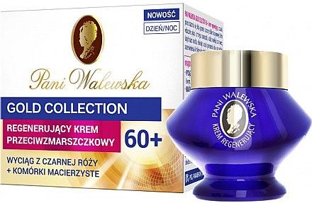 Regenerierende und glättende Anti-Falten Gesichtscreme mit Stammzellen und schwarzem Rosen-Extrakt 60+ - Miraculum Pani Walewska Gold Collection Face Cream 60+ — Bild N1