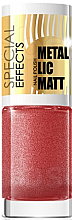 Düfte, Parfümerie und Kosmetik Nagellack - Eveline Cosmetics Special Effects Metallic Matt