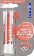 Düfte, Parfümerie und Kosmetik Lippenbalsam mit natürlichen Ölen und Provitamin E - Labello Nude Crayon Rosy Caring Lip Balm