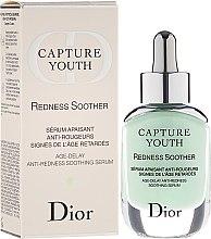 Düfte, Parfümerie und Kosmetik Anti-Rötungen Gesichtsserum mit Iris-Extrakten - Dior Capture Youth Redness Soother Age-Delay Soothing Serum