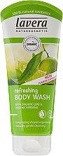 Düfte, Parfümerie und Kosmetik Erfrischendes Duschgel mit Limette und Eisenkraut - Lavera Organic Lime & Verbena Refreshing Body Wash